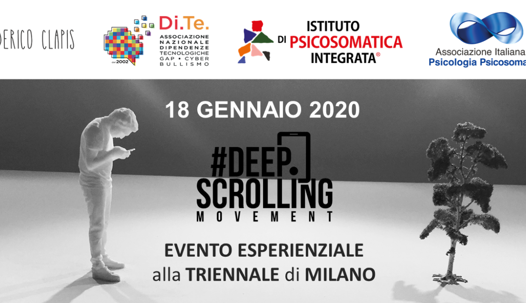 Deep Scrolling Experience | OPEN DAY 18 gennaio 2020
